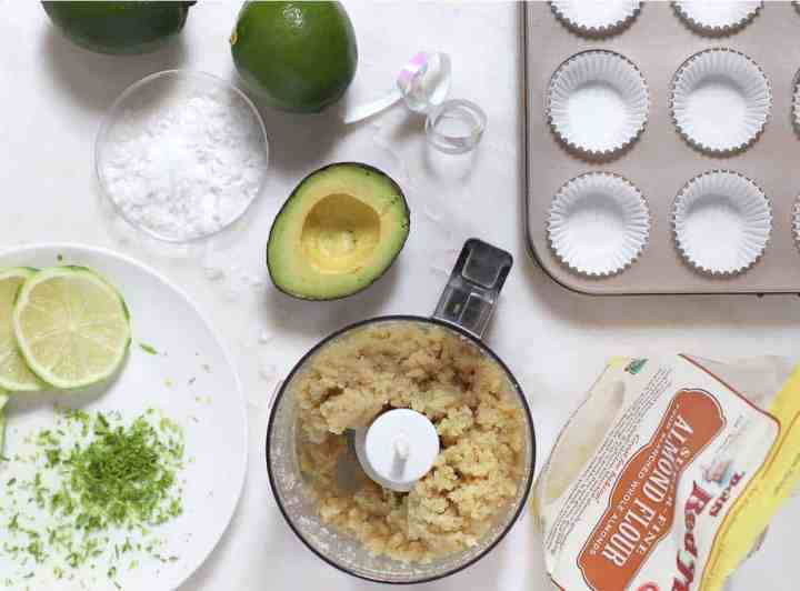 Vegan Key Lime Avocado Tartlets