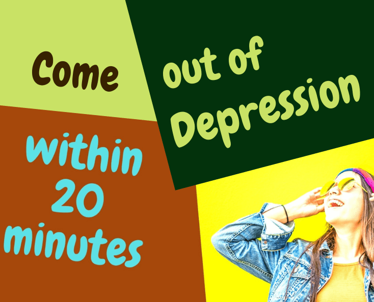 how to come out in depression
