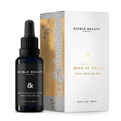 Edible beauty exotic seed of youth anti ageing oil