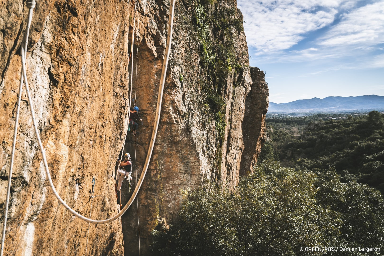 projet rééquipement Greenspits dans les Gorges du Blavet