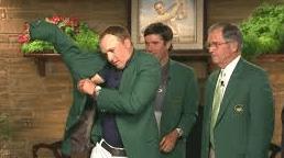 Billy Payne Spieth Green Jacket