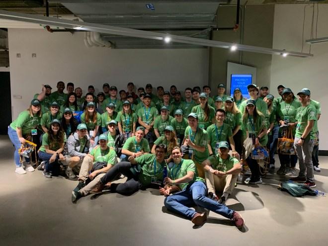 Men's Final Four Green Team