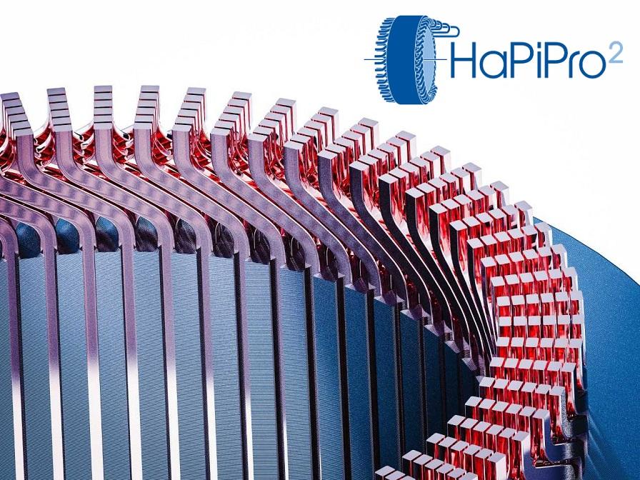Gehäuse eines Elektromotors mit Hairpin-Technologie