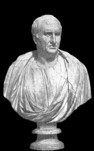 Cicero, who brought stoicism to Rome