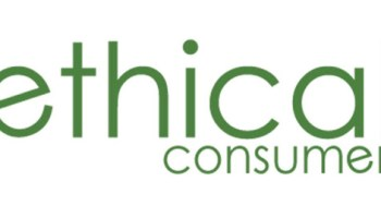 """The Ethical Consumer logo is shown, which consists of the words """"ethical consumer"""" in green font. The prize for this Green Stars Project contest: a subscription to Ethical Consumer, the UK nonprofit that's one of the best resources on ethical consumption. The challenge: write a review of any product, company, or local business and include a Green Stars rating for social and environmental impact."""
