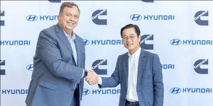 Hyundai и Cummins начинают сотрудничать в области разработок и применения водородных топливных элементов