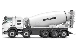 Liebherr начинает выпуск полностью электрического миксера