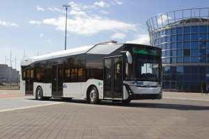 Минский автомобильный завод (МАЗ) представил свой первый электробус
