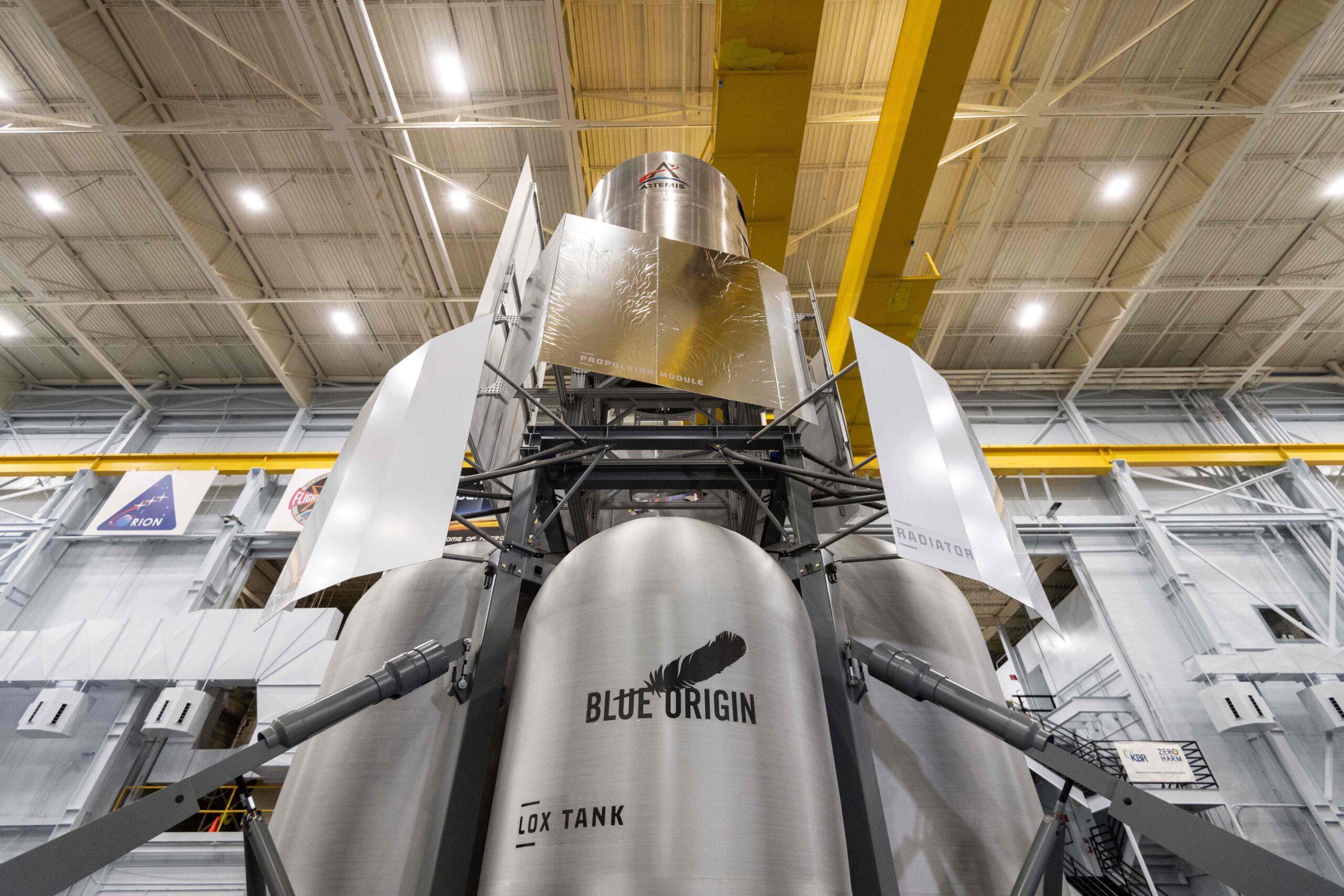 Blue Origin, Lockheed Martin, Northrop Grumman, and Draper — NationalTeam-Mockup-JSC-2