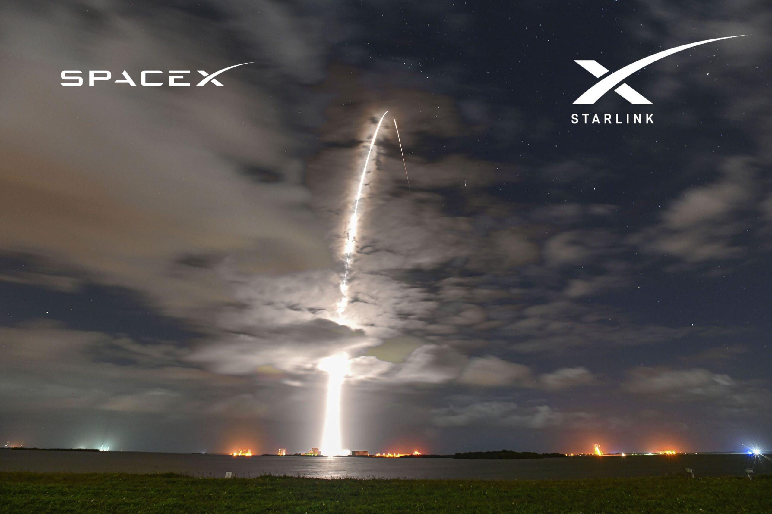 Falcon 9 launches Starlink