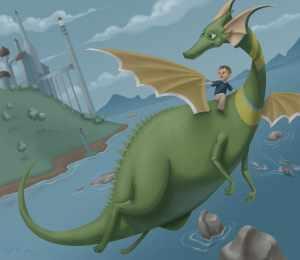 В честь какого дракона Илон Маск назвал корабль Crew Dragon и дал имена другим кораблям SpaceX?