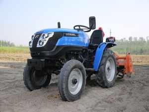В Индии фермерам стал доступен настоящий электрический трактор для работы в поле - Sonalika Tiger. Хорошо бы его увидеть в России