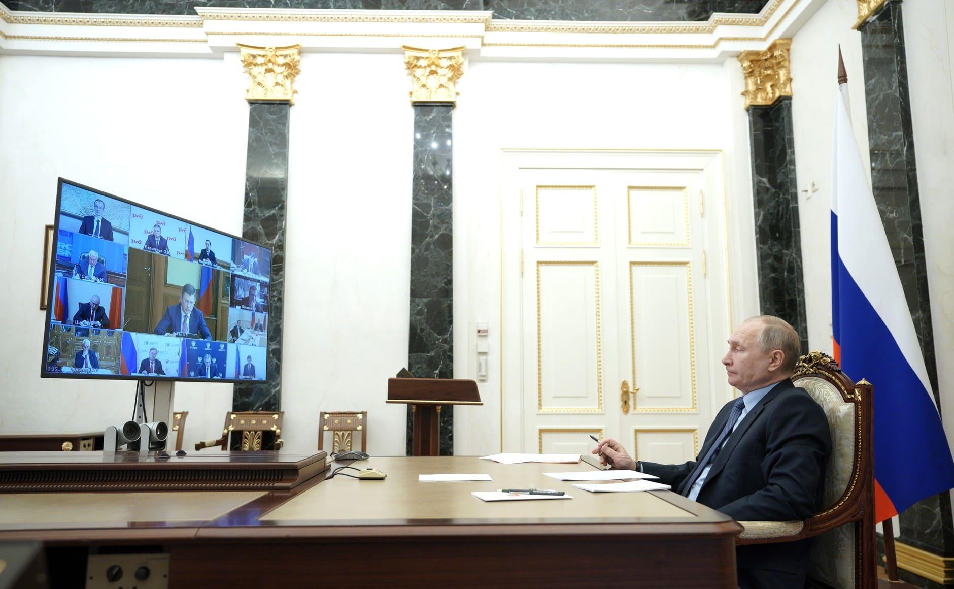 Путин совещание по углю