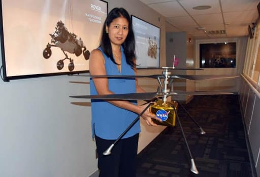 At JPL, MiMi Aung is the project manager