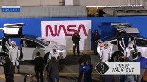 Старт миссии Crew-2 на борту многоразового корабля Crew Dragon «Endeavour»