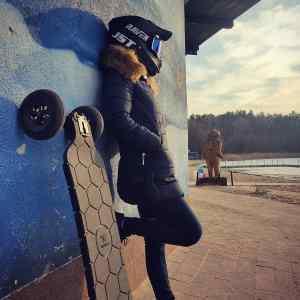 Внедорожный электрический скейтборд - есть и такое