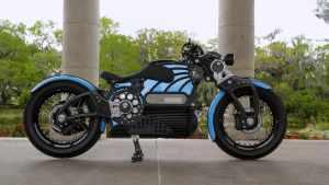 Красота симметрии. Электрический мотоцикл Curtiss One уже не прототип, а серийная машина