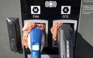Вандализм против электромобилей с применением сырого мясного фарша
