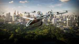 Аэротакси будущего в Азии и Америке от Eve и Skyports