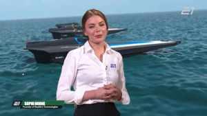 Представлен дизайн скоростной лодки RaceBird для гонок на воде E1 Series