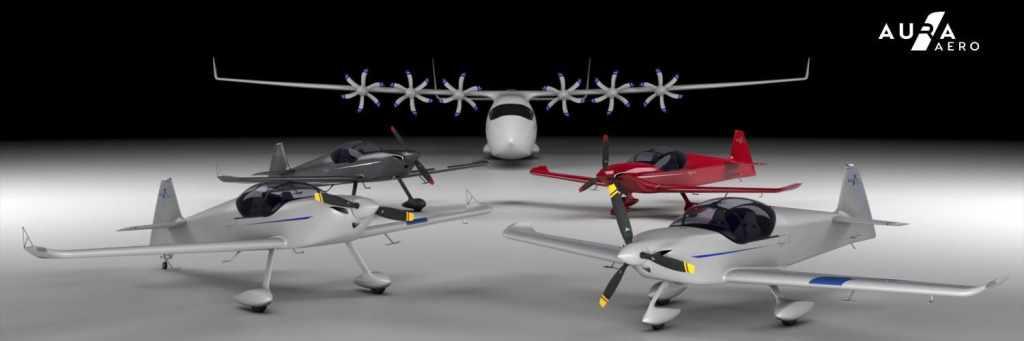 французская компания Aura Aero разрабатывает электрические самолёты