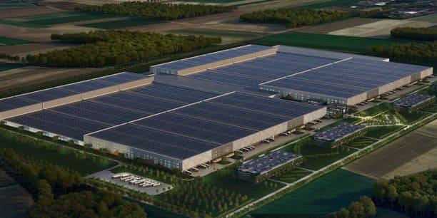 Будущий аккумуляторный завод Verkor Renault