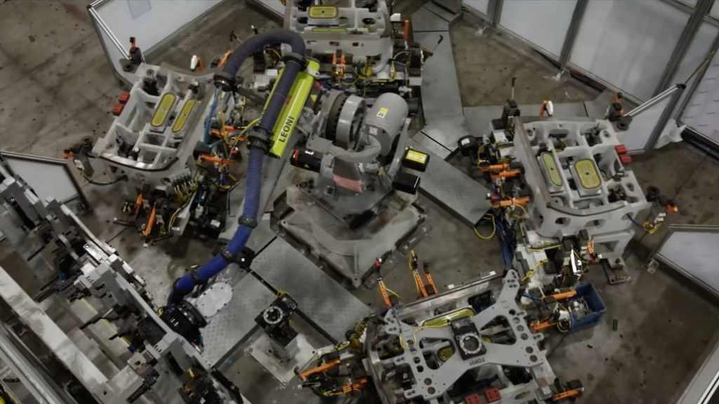 оборудование для завода Faraday Future