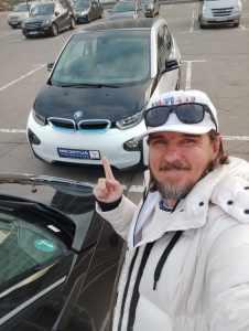 Народный, городской электромобиль BMW i3