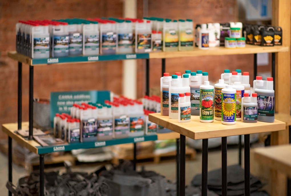 Nutrients and Fertilizer available at retail