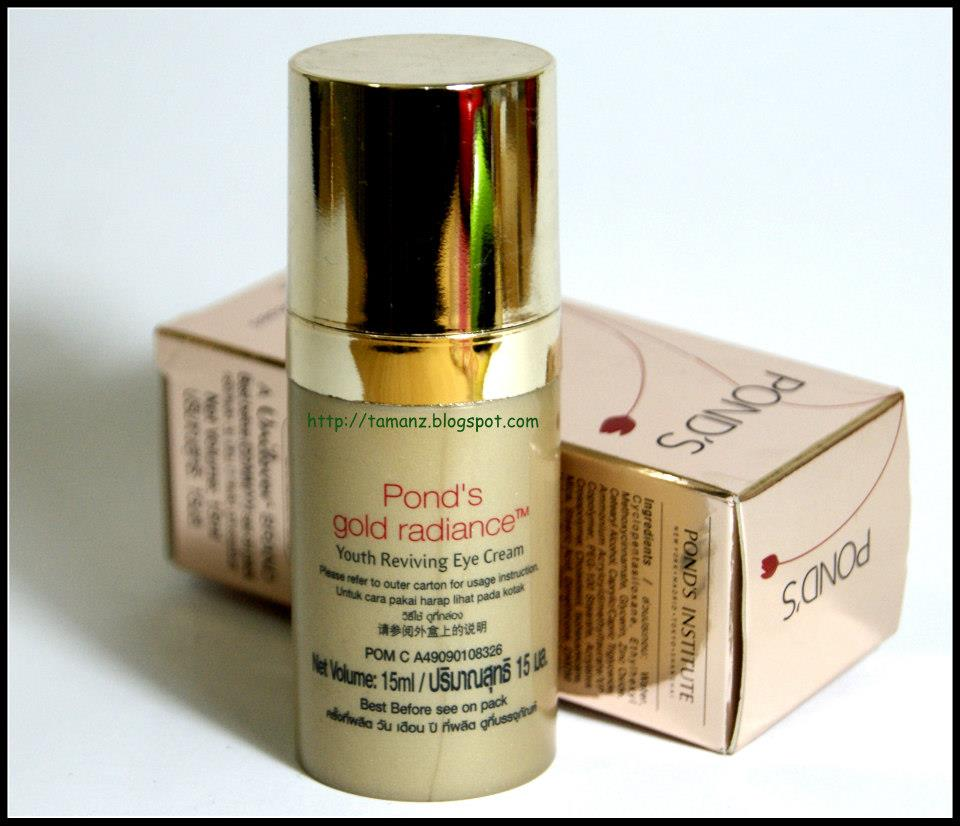 Ponds Gold Radiance Youth Reviving Eye Cream