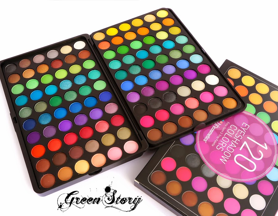 BH Cosmetics 120 Color Eyeshadow Palette