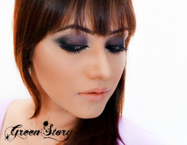 Classic Black and Brown Smokey Eye