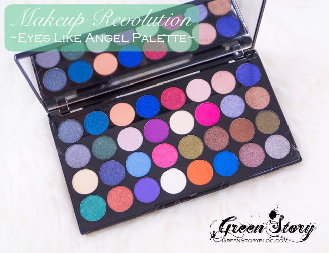 Makeup Revolution Eyes Like Angel Palette