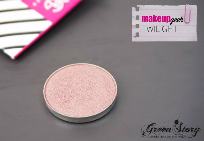 MAKEUP GEEK eyeshadow