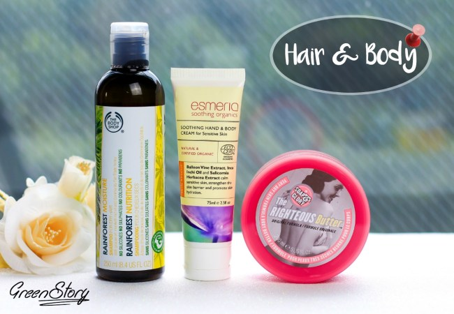 Hair and Body Product empties and thoughts on them ?