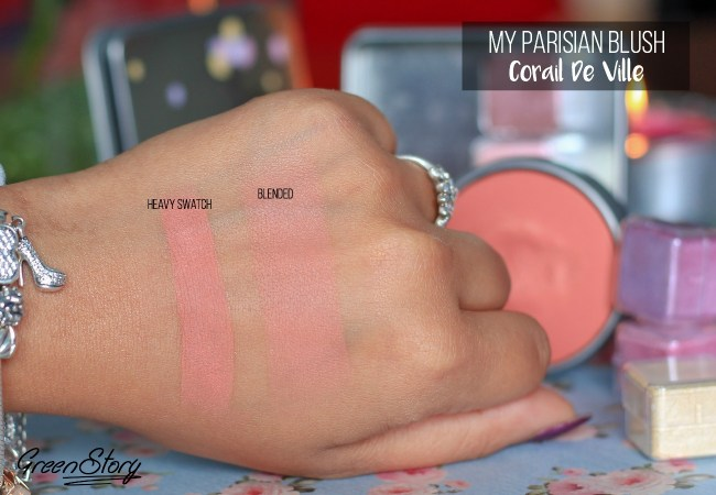 Lancome My Parisian Blush Swatch