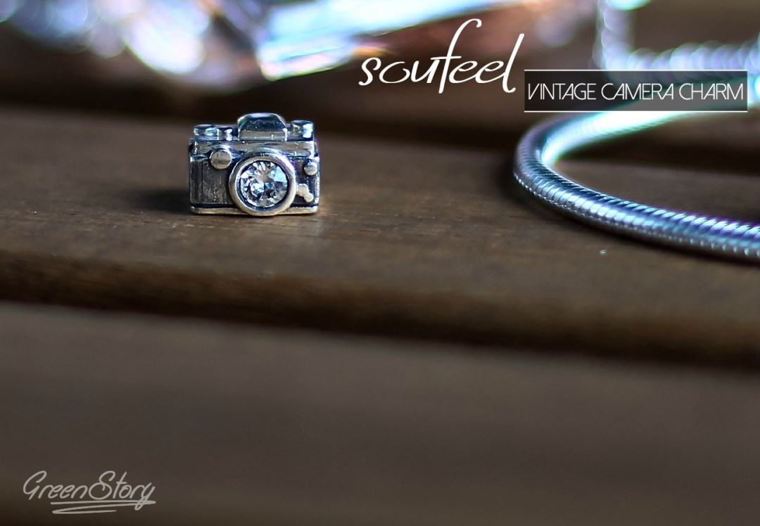Soufeel Vintage Camera Charm