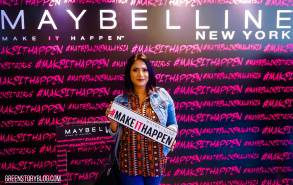 Maybelline NewYork 'Make It Happen' Media Launch