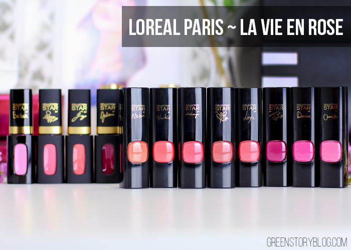 Loreal Paris La Vie En Rose Collection
