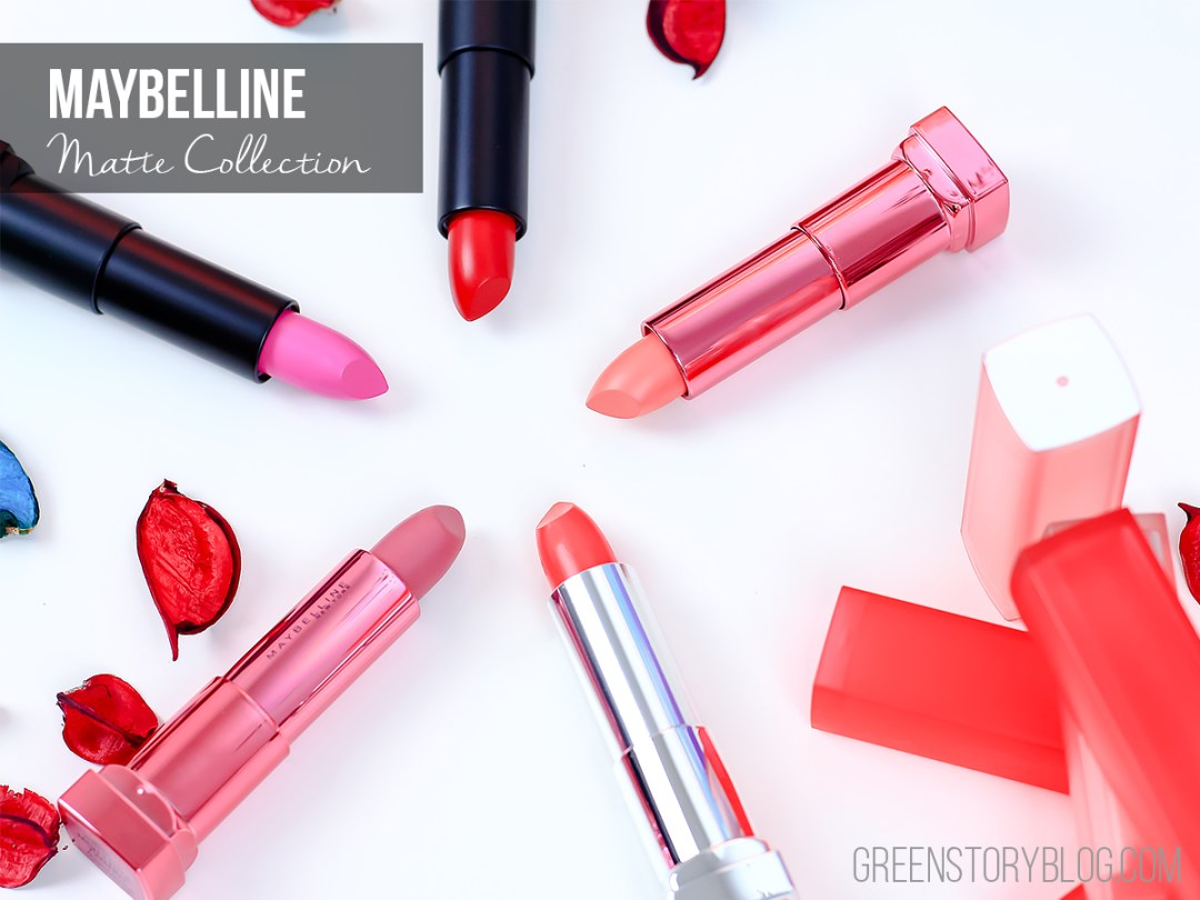 Maybelline Matte Lipstick | Review & Swatch