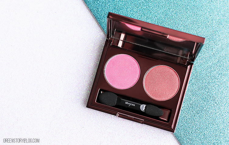 Shizens Hue Duo Eye Shadow - Sepia Pink