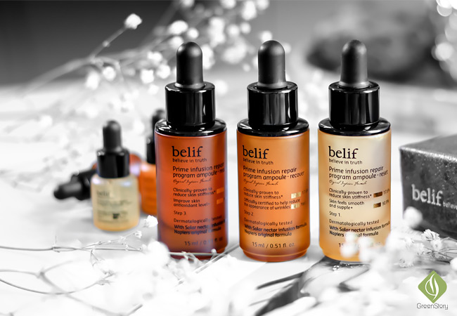 belif prime infusion repair program ampoule