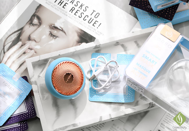 Foreo UFO Smart Mask To The Rescue Skin Problem 101 | LED THERMO Activated Sheet Mask Treatment