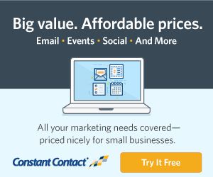 Constant Contact Big Value Affordable Price