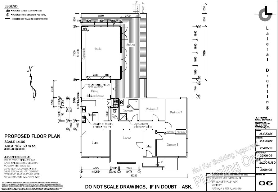 new plans for house july 2009