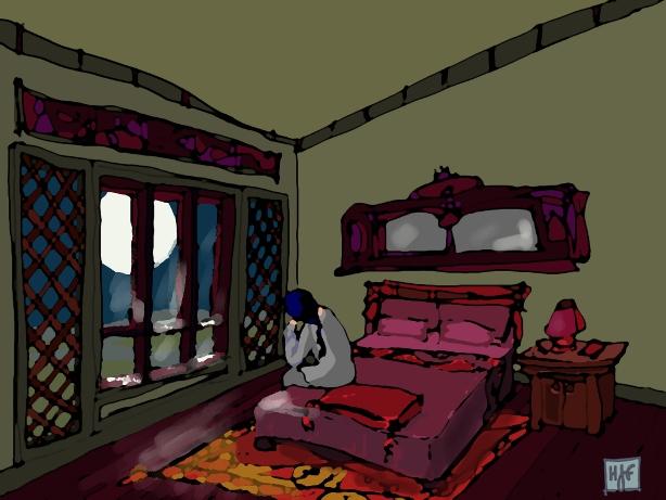 Li Bai's moon