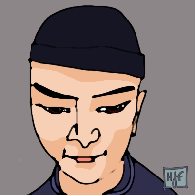 guy's face