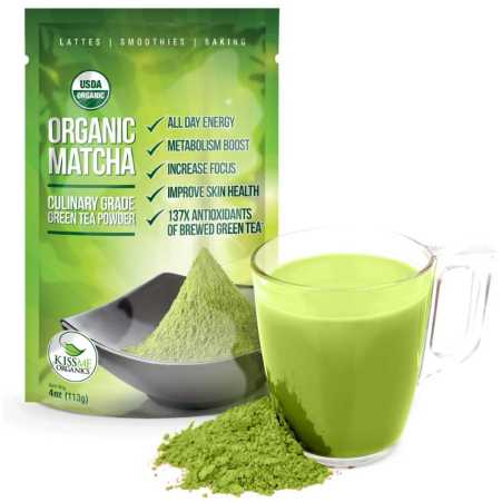 Organic Green Tea Matcha Health Benefits