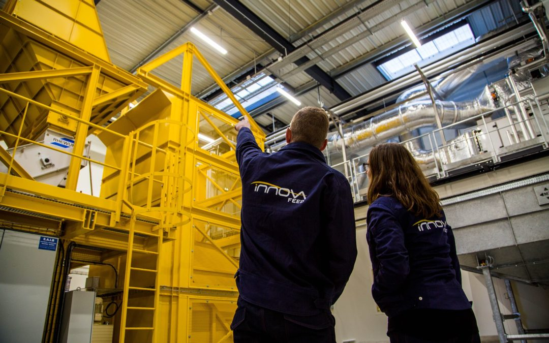 Innovafeed  inaugure sa nouvelle usine de production d'insectes