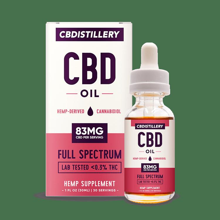 CBDistillery tincture review